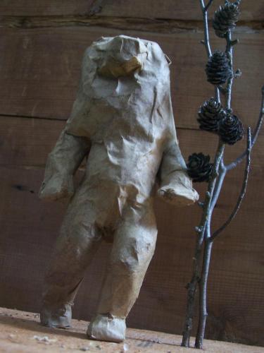 La femme ourse en pied©carolinebarber