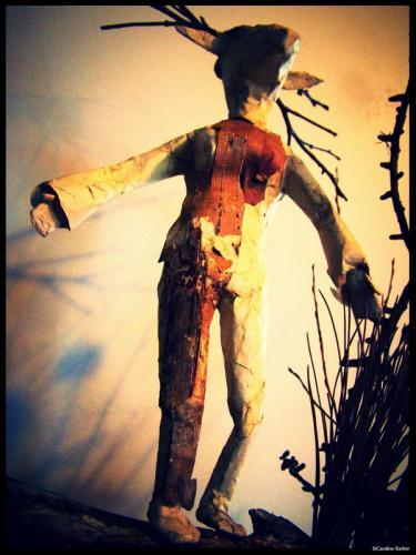 La femme cerf de face©carolinebarber