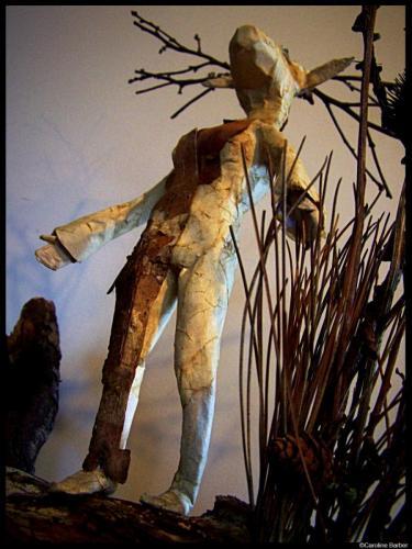 La femme cerf de face 3©carolinebarber