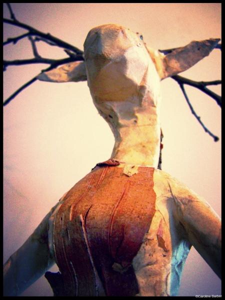 La femme cerf de face 4©Caroline Barber