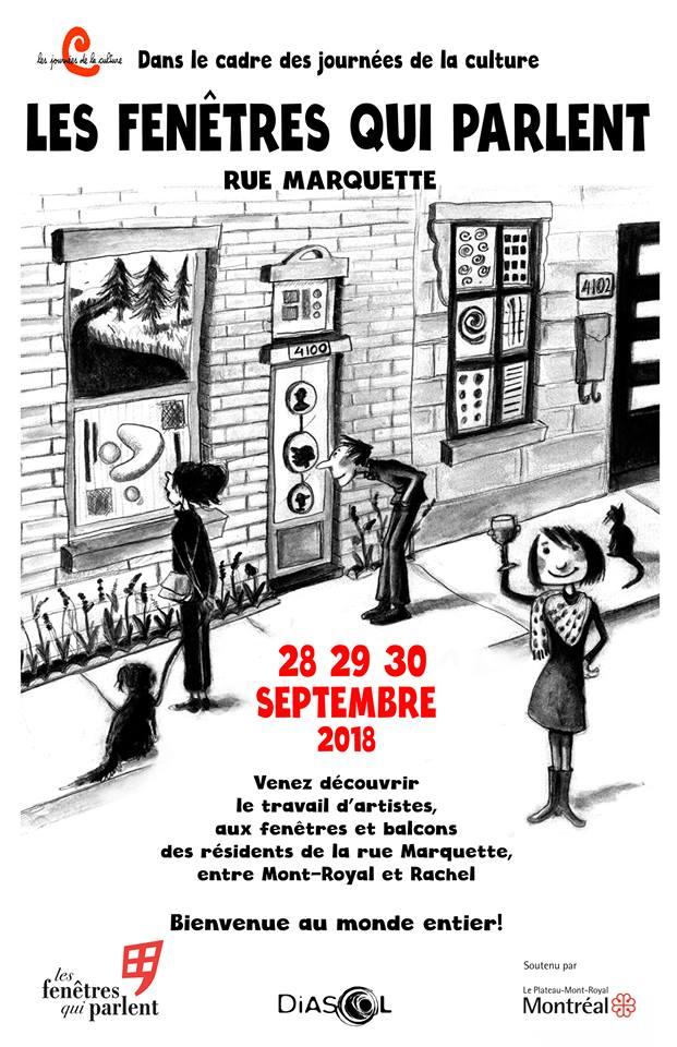 Les fenêtres qui parlent – Journées de la culture – Du 28 au 30 septembre