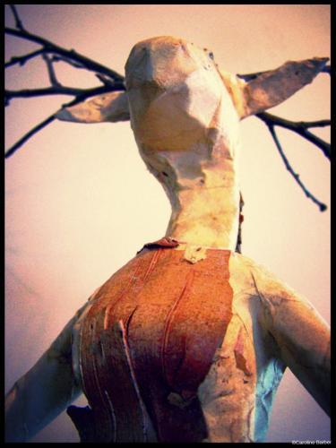 La femme cerf de face 4©carolinebarber